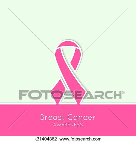 Breast Cancer Awareness Ribbon Clipart K31404862 Fotosearch