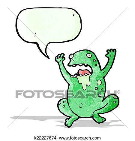 Crapaud Dessin clipart - brut, crapaud, dessin animé k22227674 - recherchez des