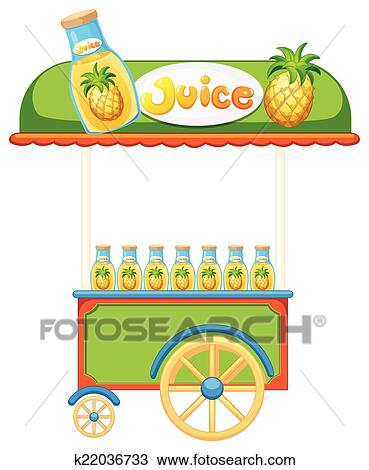 Food vendor Clipart | k22036733 | Fotosearch