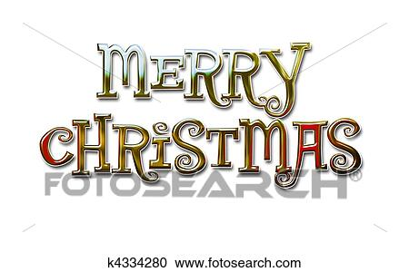 Merry Christmas Lettering.Merry Christmas Lettering Clipart