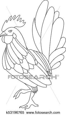 Rooster Color By Number - Friv Free Coloring Pages For Children ... | 470x271