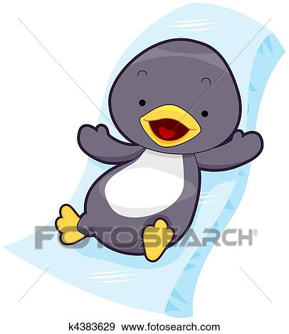 かわいい ペンギン イラスト K4383629 Fotosearch