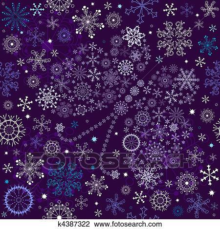 Seamless すみれ クリスマス 壁紙 クリップアート切り張り