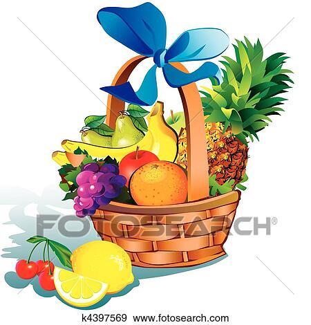 Fruits Clip Art K4397569 Fotosearch