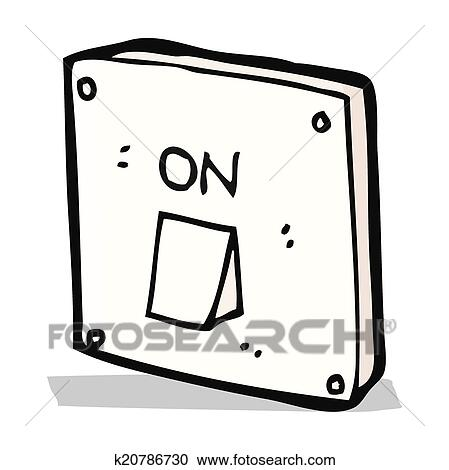 Cartoon Light Switch Clipart K20786730