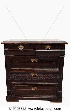 Stock Photo Of Vintage Commode K19102862 Search Stock Photography