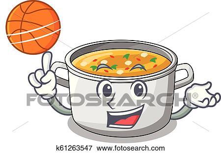 Bowl Of Pasta Salad Color stock vector   Thinkstock   Cartoon Veggie Pasta