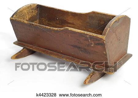 Fotos - antigüedad, pesebre del bebé k4423328 - Buscar fotos e ...