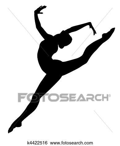 Clipart gymnastique k4422516 recherchez des cliparts des illustrations des dessins et des - Dessin gymnaste ...
