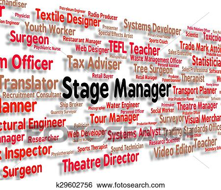 stage manager meaning overseer director and principal