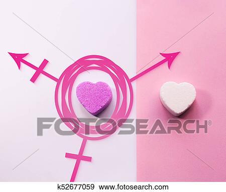 Stock Illustration Of Third Gender Transgender Symbol K52677059