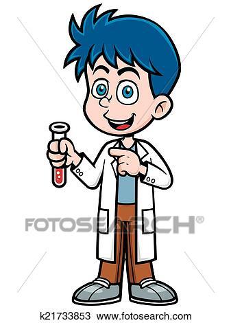 clipart cientista k21733853 busca de ilustrações clip art