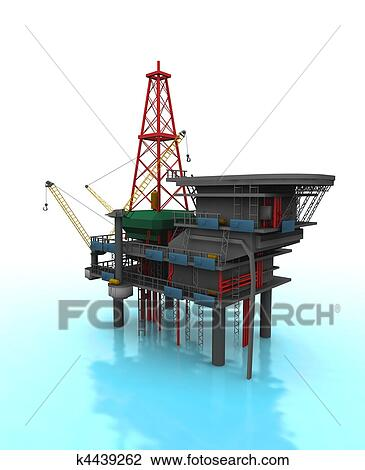 Drilling Rig Drawing