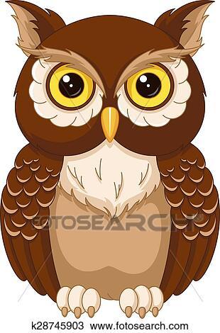 Owl Clipart | k28745903 | Fotosearch