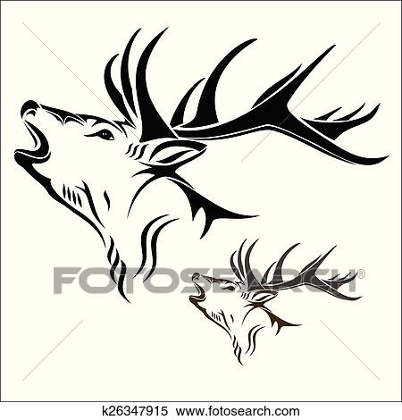 Clipart Info - Deer Head Clipart - Free Transparent PNG Clipart Images  Download
