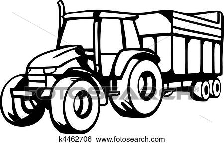 clip art of agriculture vehicles k4462706 search clipart rh fotosearch com clipart images of vehicles clipart pictures of vehicles