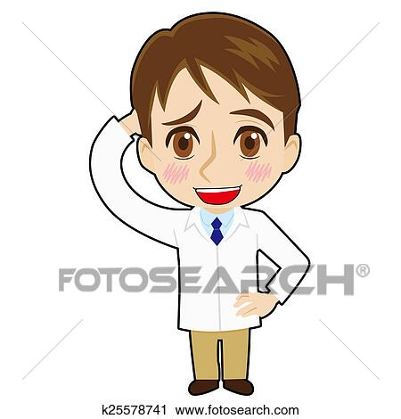 clipart of bashful pharmacist k25578741 search clip art rh fotosearch com pharmacy clipart pharmacy clipart for cnc projects