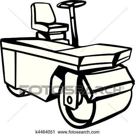 Clipart Of Construction Vehicles K4464051