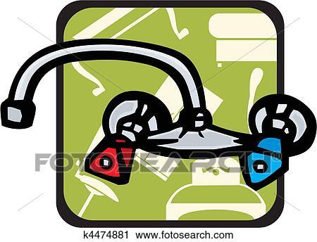 Clipart - badezimmer k4474881 - Suche Clip Art, Illustration ...