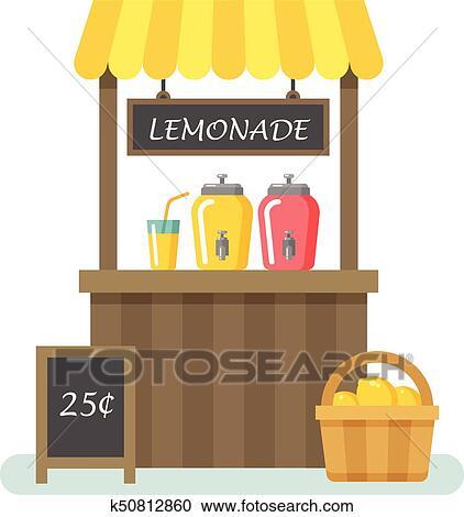 Lemonade Stand Clip Art
