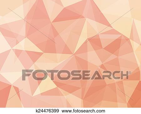 Geometric Abstract Polygon Art