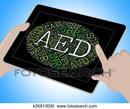 Aed, عملة, إعتزام, الإمارات العربية المتحدة, أيضا, Emirati, الدرهم