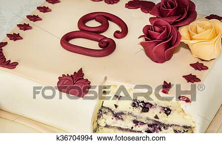 Astounding Big Cake For 60Th Birthday Symbolic Food Picture K36704994 Funny Birthday Cards Online Elaedamsfinfo