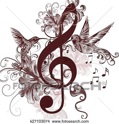 Resultado de imagen de dibujos de musica