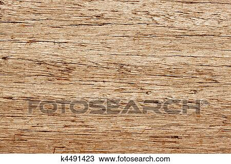 Old Weathered Wood Grain Texture Close Up Background Stock Photo