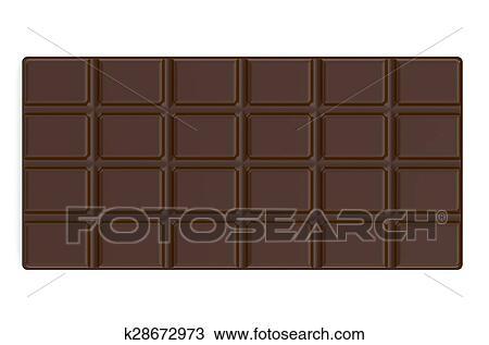 Tavoletta Di Cioccolato Disegno.Tavoletta Di Cioccolato Disegno K28672973 Fotosearch