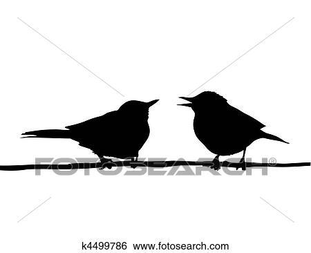 11 7 16 5 Oiseaux Sur Le Pochoir De Branches Oiseaux 2 A3
