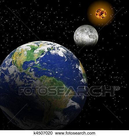 terre soleil lune
