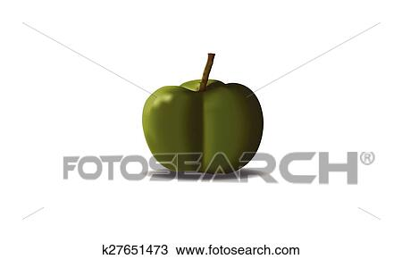 Rubber Tree Seed Vector Clipart K27651473 Fotosearch