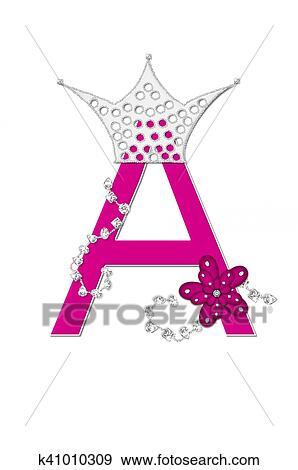 Colección de ilustraciones - alfabeto, desfile, reina, un k41010309 ...