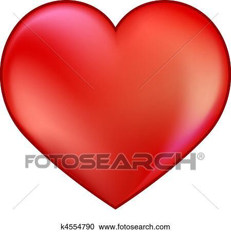 Clipart cuore rosso k4554790 cerca clipart for Clipart cuore