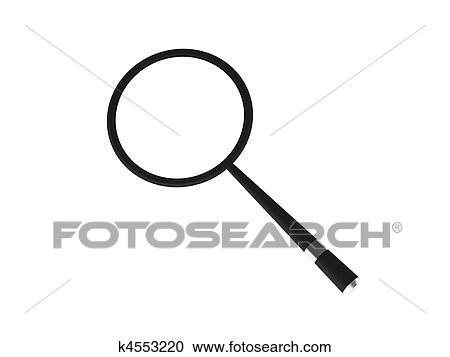 Loupe Clipart K4553220 Fotosearch