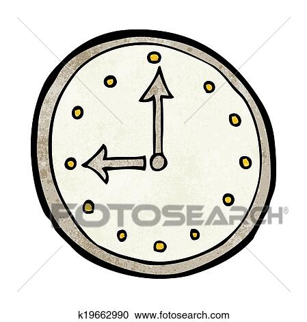 clipart dessin anim horloge symbole k19662990 recherchez des clip arts des illustrations. Black Bedroom Furniture Sets. Home Design Ideas