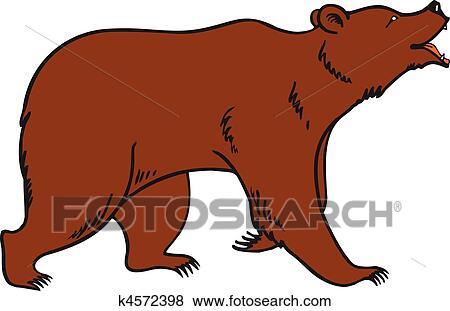clipart pardo urso marrom vetorial k4572398 busca de clip art