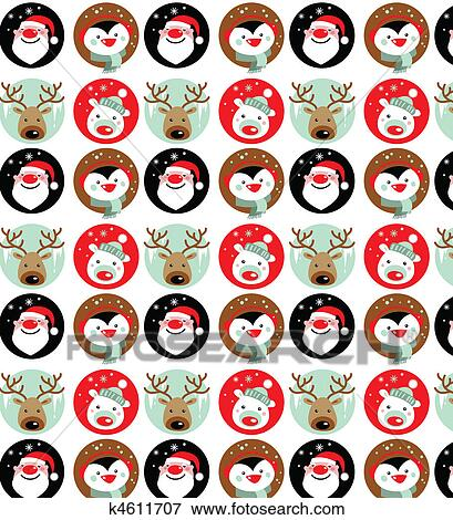 Clip Art Christmas Wallpaper Fotosearch Search Clipart Illustration Posters Drawings