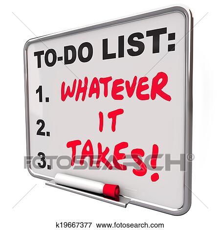 Quoi Il Prend Motivation Proverbe Citation Faire Liste Banque De Photo K19667377 Fotosearch