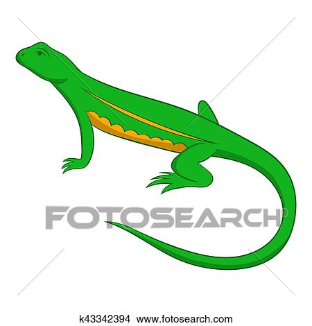 Dessin Salamandre dessins - salamandre, icône, dessin animé, style k43342394