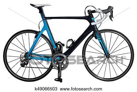 Carbone Vélo Dessin