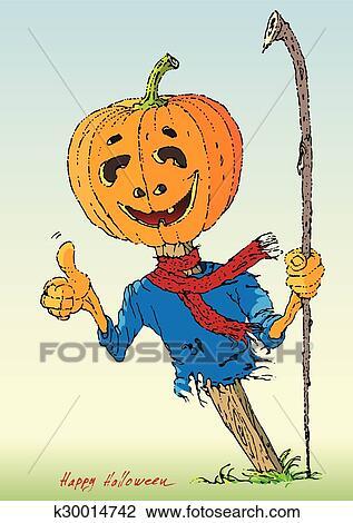 Happy Halloween Color Clipart K30014742 Fotosearch
