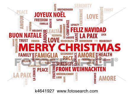 Weihnachten Wörter.Weihnachten Magie Wörter Stock Illustration