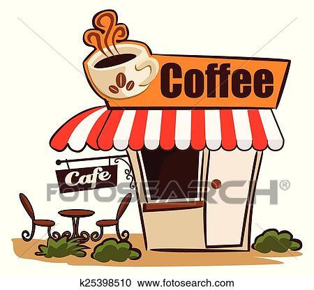 Coffee Shop Clipart | k25398510 | Fotosearch