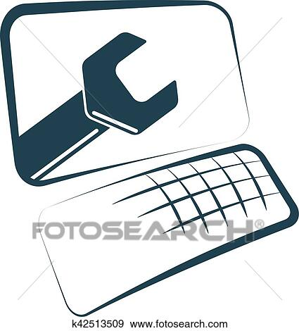 clip art of computer repair and maintenance k42513509 search