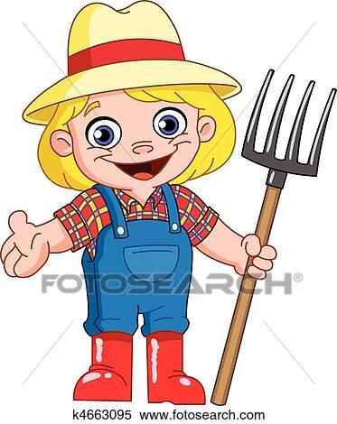 Farmer Boy Clipart