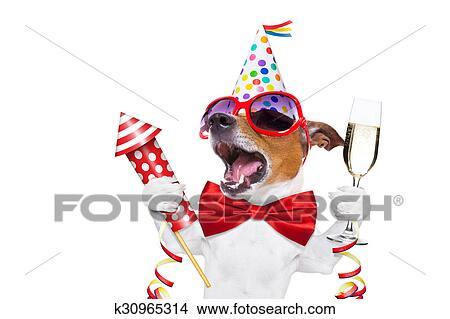 Stock Foto Alles Gute Geburtstag Hund K30965314 Suche