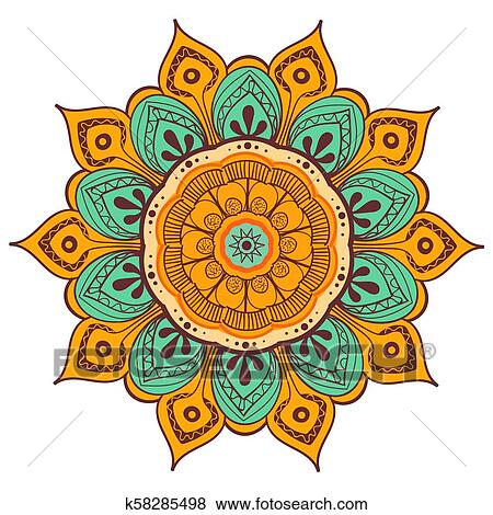 Mke Block Chain Guide Mandalas Coloridas Flores