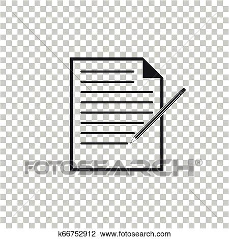 blank notebook and pencil with eraser icon isolated on transparent background paper and pencil flat design vector illustration clipart k66752912 fotosearch fotosearch